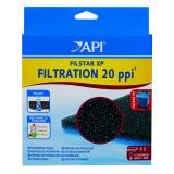API Mousse de filtration 20 ppi pour filtre RENA Filstar XP