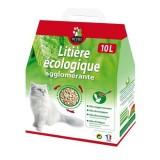 OCTAVE Litiere vegetale agglomérante pour chat