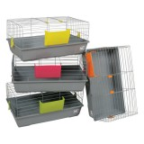ZOLUX Cage Bunny 80 grise