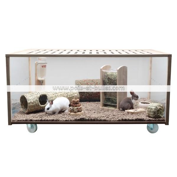 living world cage eco habitat pour rongeurs