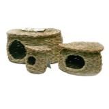 LW Green Maison en fibres naturelles pour rongeurs