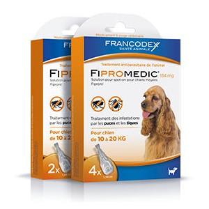 FRANCODEX FiproMedic chiens moyens