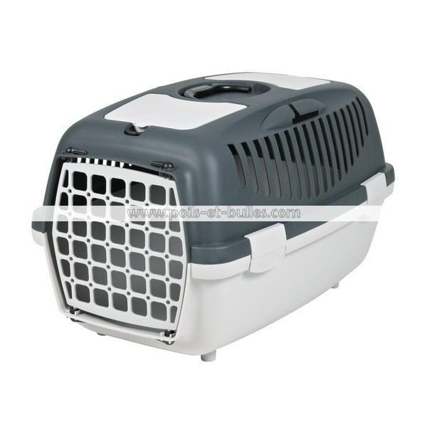 panier de transport gulliver gris pour chat ou chien. Black Bedroom Furniture Sets. Home Design Ideas
