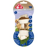 8IN1 Delight Os Beef S - Os au boeuf pour chien moyen