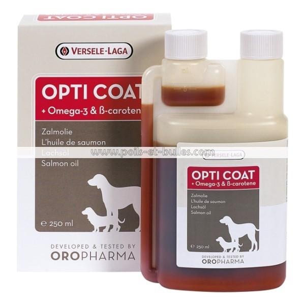 OROPHARMA Opti Coat- Huile de saumon pour chien