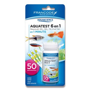 AQUASCIENCE AquaTest 6 en 1