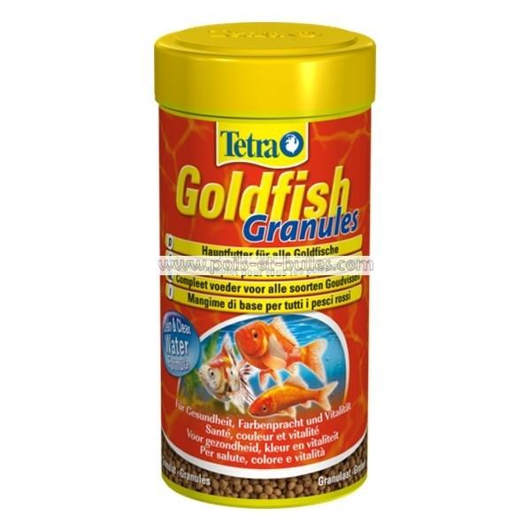 Aliment tetra goldfish granules pour poisson rouge for Poisson tetra rouge