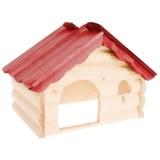 ZOLUX Maison bois chalet L pour rongeurs