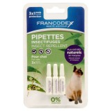 FRANCODEX Pipettes insectifuge pour chat