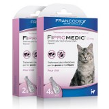 FRANCODEX Fipromedic chats - Pipettes Anti-parasitaire