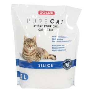 ZOLUX PureCat Litiere Silice naturelle pour chat