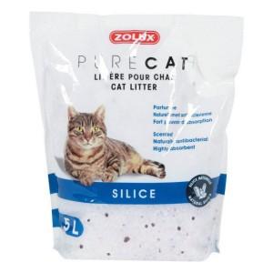 ZOLUX PureCat Litière Silice Parfumée pour chat
