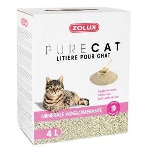 ZOLUX PureCat Minérale agglomérante