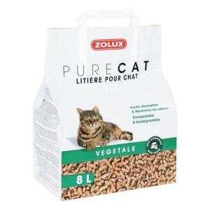 ZOLUX PureCat Litière végétale pour chat