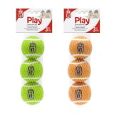 DOG IT Play Balle tennis éponge pour chien