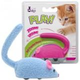 CAT LOVE Play souris a roulettes - Jouet pour chat