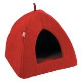 ZOLUX Castle Igloo rouge pour chat ou petit chien