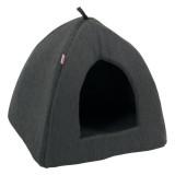 ZOLUX Castle Igloo gris pour chat ou petit chien