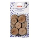 ZOLUX Rondelles de bois à ronger pour écureuils et autres petits rongeurs