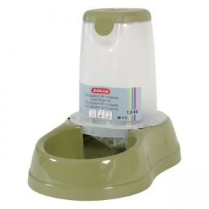 ZOLUX Distributeur croquettes vert