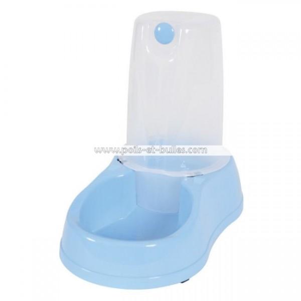 zolux distributeur d 39 eau bleu pour chien chat ou furet. Black Bedroom Furniture Sets. Home Design Ideas