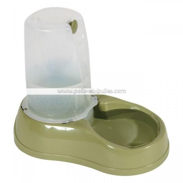 zolux distributeur d 39 eau vert pour chien chat ou furet. Black Bedroom Furniture Sets. Home Design Ideas