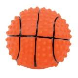Jouet vinyle balle de basket pour chien