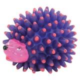 Jouet vinyle Herisson 9 cm pour chien