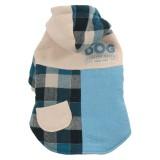 ZOLUX Manteau écossais bleu pour chien