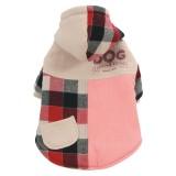 ZOLUX Manteau écossais rose pour chien
