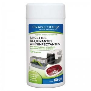 FRANCODEX Lingettes désinfectantes
