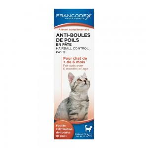 FRANCODEX Anti-boules de poils en pâte pour chat