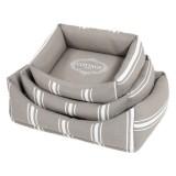 ZOLUX Cottage sofa gris et blanc - Existe en 3 tailles
