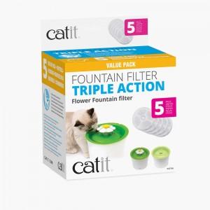 CATIT Filtre triple action pour fontaine x5