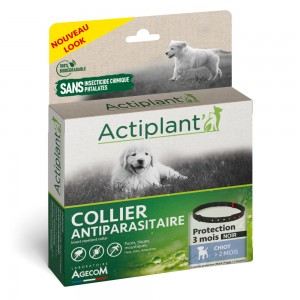 ACTIPLANT Collier antiparasitaire pour chiot