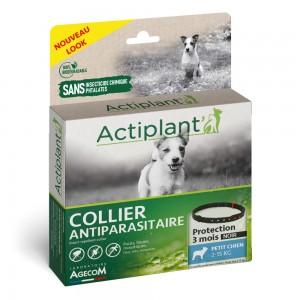 ACTIPLANT Collier antiparasitaire pour chien moyen