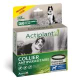 ACTIPLANT Collier antiparasitaire noir pour chien