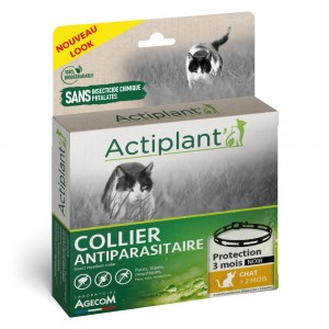 ACTIPLANT Collier antiparasitaire pour chat
