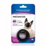 FRANCODEX Collier noir anti-parasitaire Prévencide chat