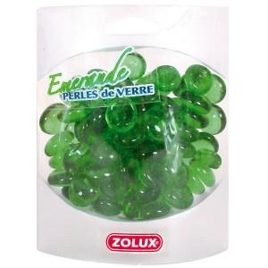 ZOLUX Perles de Verre Emeraude