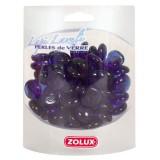 ZOLUX Perles de Verre Lapi Lazuli