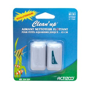 ZOLUX Clean Up Mini - Aimant flottant pour aquarium