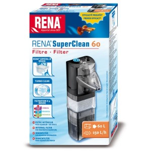 RENA SuperClean 60 - Filtre intérieur pour aquarium