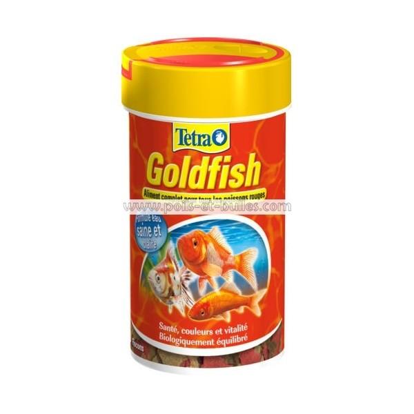Aliment tetra golgfish pour poisson rouge for Poisson japonais nourriture