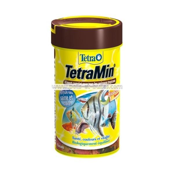 Aliment tetra tetramin pour poisson exotiques for Aliment pour poisson