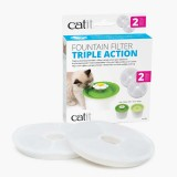 CAT IT Cartouches de rechange pour fontaine à chat (Pack de 2)