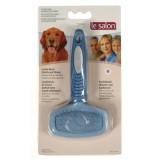LE SALON Brosse combi carde/nylon M pour chien