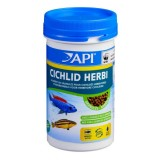 API Cichlid Herbi Granulés 250ml - Aliment pour cichlidés herbivores