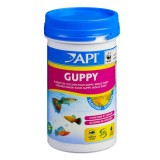 API Guppy Flocons 250ml - Aliment pour vivipares