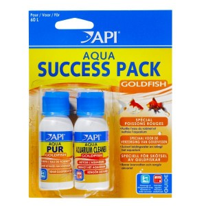 API AQUA Success Pack Goldfish - Conditionneur et bactéries pour poissons rouges